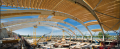Richmond Oval Glulam Construction