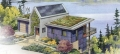 Bass Cove Zero Energy House Rendering (Washington, USA)