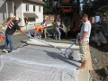 Fish Singer Pouring Pervious Pavement