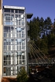 Mountlake Terrace Transit Center Glass Elevator