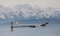 Solar Impulse Flight by Sun