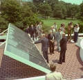 White House Solar Panels Installed 1979
