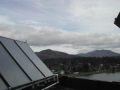 Lake Flower Apartments Solar Collectors on Roof (Saranac Lake, New York, USA)