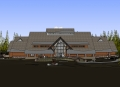 Yellowstone Old Faithful Education Center rendering