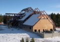 Yellowstone Old Faithful Education Center Roof Construction