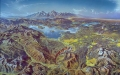 Yellowstone National Park Aerial Rendering