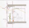 Genzyme Loggia Section Sketch