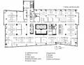 Twelve West Typical Office Floor Plan