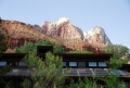 Photovoltaics at Zion National Park Visitor Center, Utah (USA)