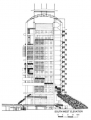Menara Mesiniaga SW Elevation Dwg