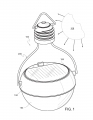 Nokero200 Solar Light Bulb Illustration