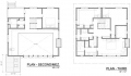 Blue House Floor Plan Two and Three