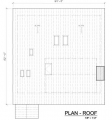 Blue House Roof Plan