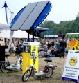 Solar Charging Station Electric Bikes