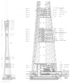 Canton Tower Bldg Section