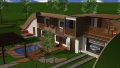 Eko Kuca Two Story Rendering