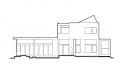 Ellis Residence East Elevation Drawing