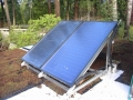 Ellis Residence Solar Thermal Collectors