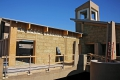Desert Living Center Straw Bale Walls