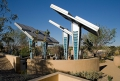 Desert Living Center Solar Trees