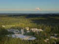 Evergreen Sustainable Campus Aerial