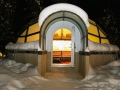 Igloo Glass Entry