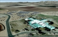 Arizona Western College PV Aerial Rendering