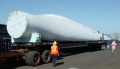 Hopkins Ridge Wind Blade Transported on Truck