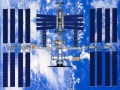 International Space Station All Solar Powered
