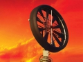 Windtronics Homemade Turbine Sunset