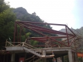 Tianmen Restaurant Structural Beams
