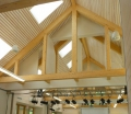 Bosarge Education Center Trusses