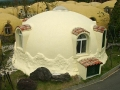 Dome House White