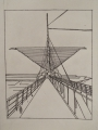 Milwaukee Art Museum Pen Sketch