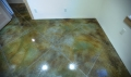 Sungazing House Stained Concrete