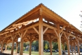 Blacksburg Farmers Market Timber Frame
