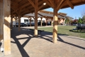 Blacksburg Farmers Market Timber Frame Pavilions