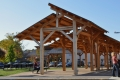 Blacksburg Farmers Market Timber Frame Structure