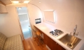 Airstream 1972 Renovation Kitchen Desk