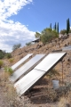 Arcosanti Solar Thermal Collectors