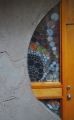 Arcosanti Stained Glass Doorway