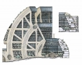 Arcosanti Mega Structure Cross Section