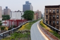Highline Park Radial Bench