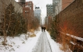 Highline Park in Snow