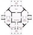 Poplar Forest Floor Plan
