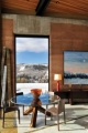 Wyoming Rammed Earth Interior