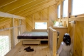 Maine Cabin Sleeping Loft