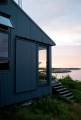 Maine Cabin Sliding Doors