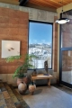 Wyoming Rammed Earth Entry
