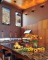 Wyoming Rammed Earth Kitchen